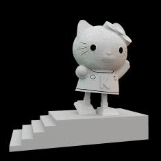 http://juancarlosramos.me/2013/08/31/02-textures-3d-hello-kitty-sculpture/