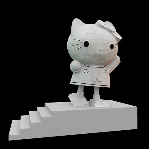 http://juancarlosramos.me/2013/08/31/02-textures-3d-hello-kitty-sculpture/